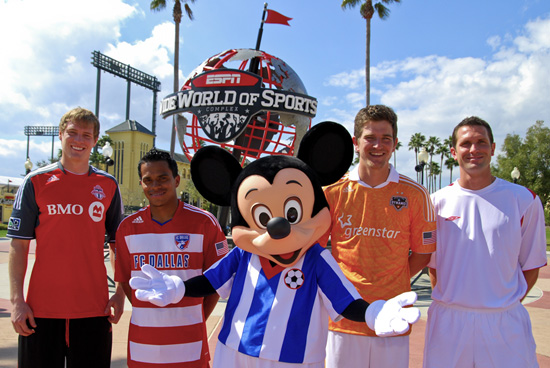 Eight Pro Soccer Teams Compete at the Third Annual Walt Disney World Pro Soccer Classic