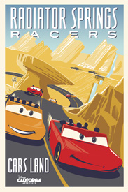 Radiator Springs Racers at Disney California Adventure Park