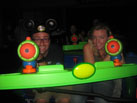 Nate Defeats Emperor Zurg at Buzz Lightyear's Space Ranger Spin