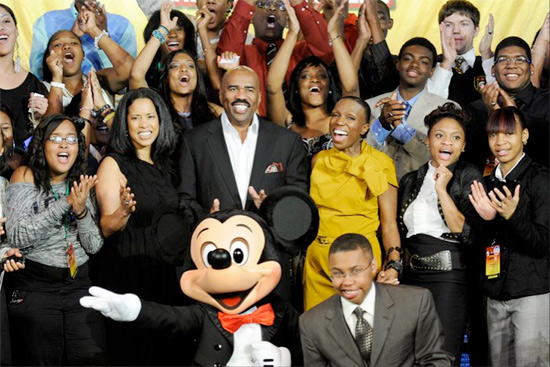 Steve Harvey and the Disney's Dreamers Academy