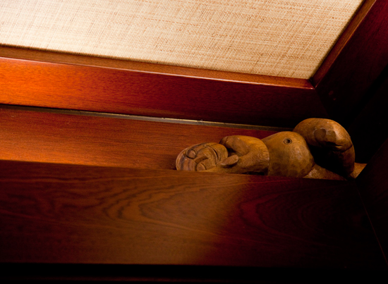 Menehune Spotted in the Elevator at Aulani, a Disney Resort & Spa