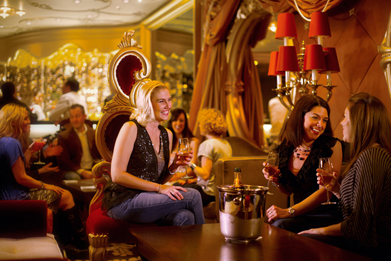 Ooh La La Lounge on the Disney Fantasy