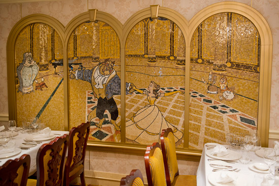 Mosaic Mural Adorning the Walls of the Royal Court on the Disney Fantasy