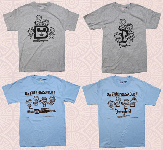 Retro-Style T-Shirts at Disney Parks