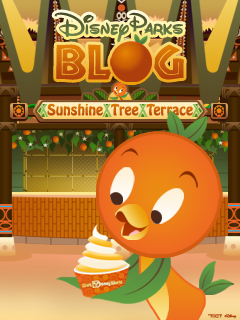 Desktop Wallpaper Featuring Orange Bird in Adventureland at Magic Kingdom Park at Walt Disney World Resort