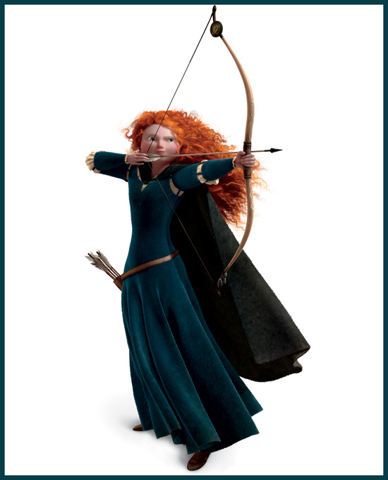 Merida from Disney•Pixar's 'Brave