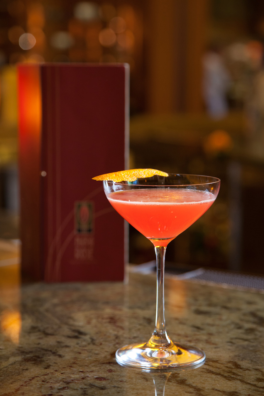 Cool new cocktails at napa rose at disney s grand for Cocktail rose