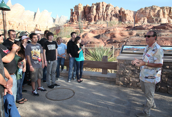 Sixty-Six Readers Take a Spin at the Disney Parks Blog Cars Land Meet-Up