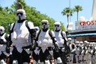 The 501st Legion and Rebel Legion are Special Guests Each Day During the Pre-Parade Festivities