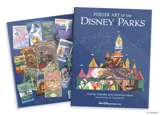 Cover of 'Poster Art of the Disney Parks'