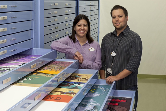 Vanessa Hunt and Danny Handke, Authors of 'Poster Art of the Disney Parks'
