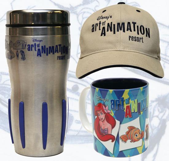 Disney's Art of Animation Resort Merchandise Featuring Drink Hat