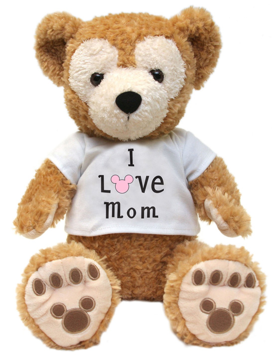 17-inch Duffy the Disney Bear Wears a T-shirt Filled With Mother's Day Love