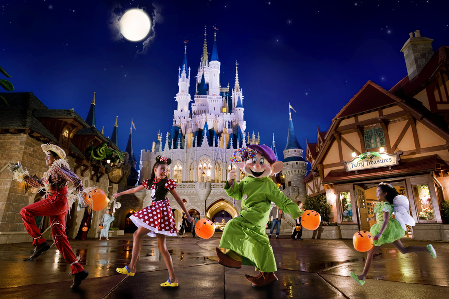 Tickets On Sale for Not-So-Scary, Very Merry Events at Walt Disney ...