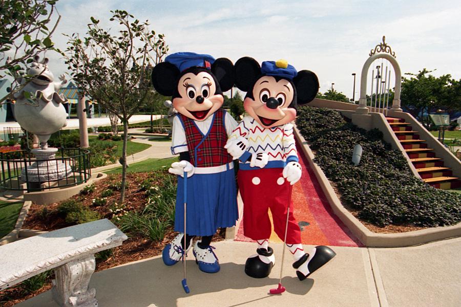 Vintage Walt Disney World Looking Back At The Debut Of Fantasia Gardens Disney Parks Blog