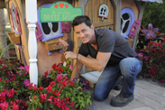 'My Yard Goes Disney' Host Brandon Johnson Helps Landscape the Morales Family's Backyard