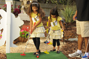 Fantasia Golf in the Morales Family's Backyard - 'My Yard Goes Disney'