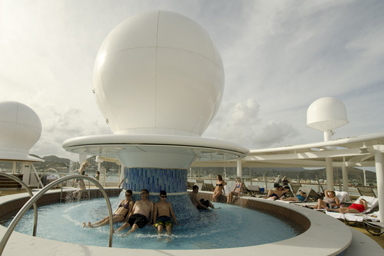 Satellite Falls on the Disney Fantasy