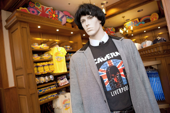 Merchandise Saluting British Bands, Including The Beatles, Invades United Kingdom Pavilion at Epcot at Walt Disney World Resort