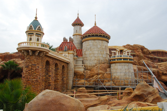 Prince Eric's Castle in New Fantasyland at Magic Kingdom Park