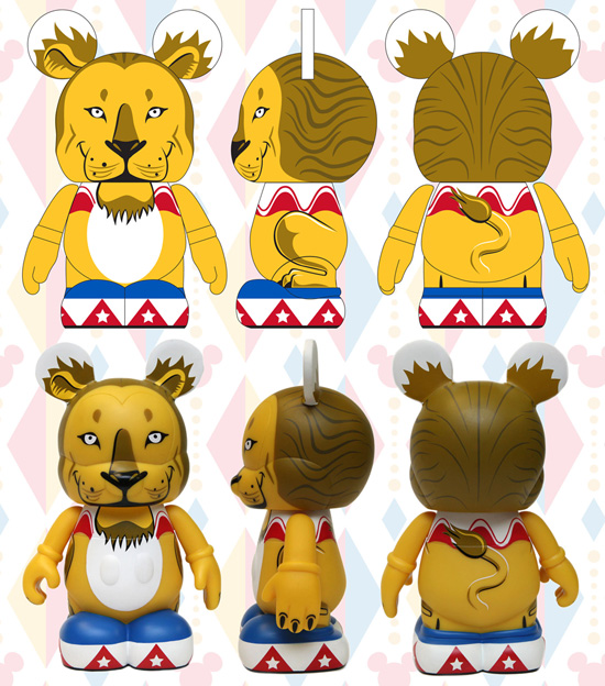 Circus Lion Vinylmation with Art by Eric Caszatt