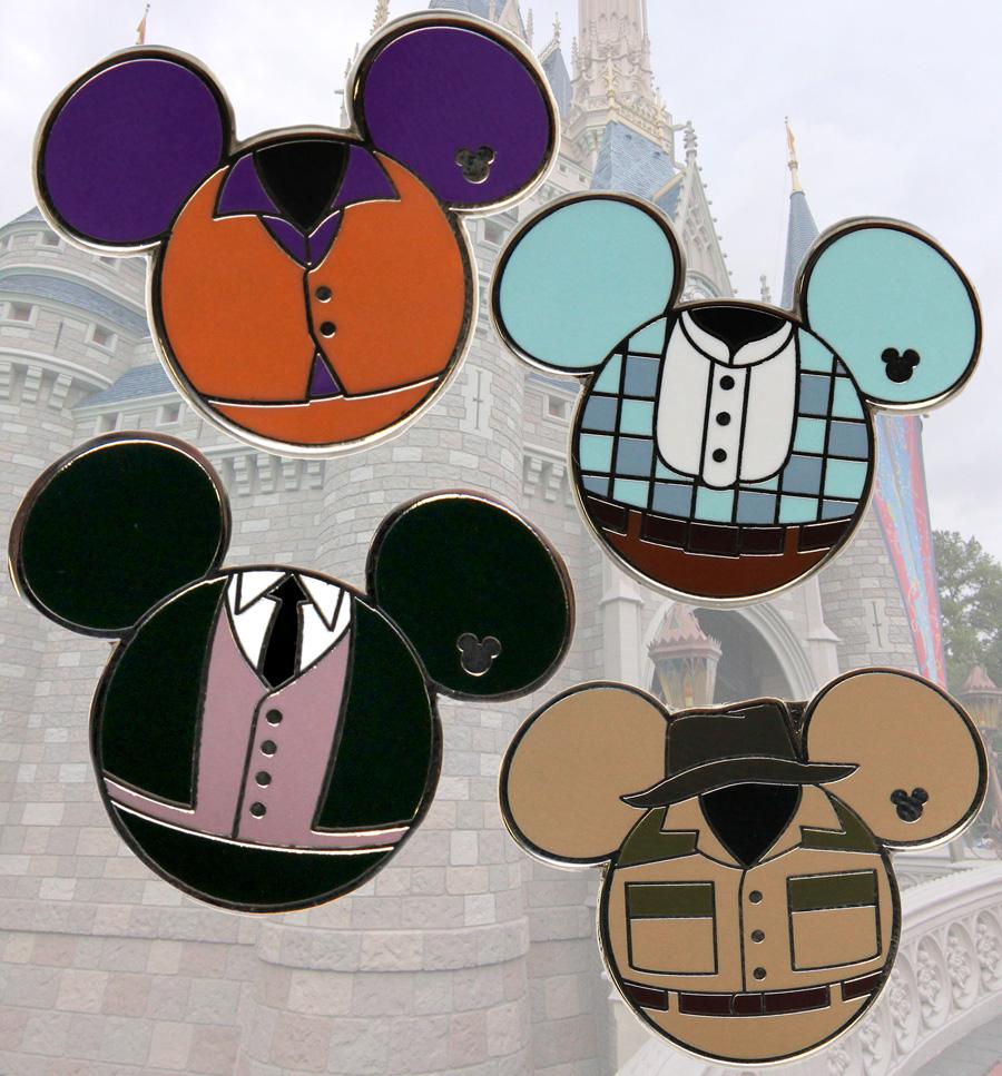 Disney Pins: New Hidden Mickey Pins For Summer At Disney Parks