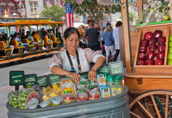 Nutritious Food Items and Menu Choices Available at Disney Parks and Resorts as Part of Disney Magic of Healthy Living