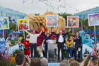 Dedication Ceremony at Disney's Art of Animation Resort for the New Disney•Pixar 'Mail a Smile' Stamps
