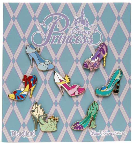 Shoes! Shoes! Shoes! Princess Shoe Pins Coming Soon To Disney Parks