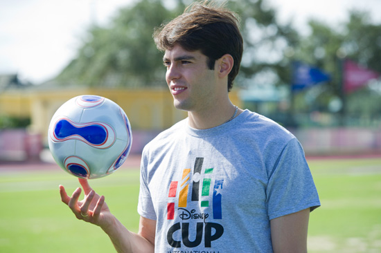 Soccer Star Kaká Visits the ESPN Wide World of Sports Complex at Walt Disney World Resort