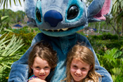 Disney Characters Lilo and Stitch Available for Meet-and-Greets at Disney's Typhoon Lagoon Water Park at Walt Disney World Resort
