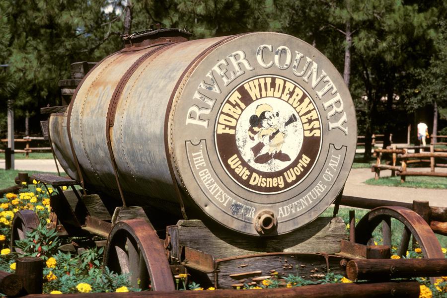 Vintage Walt Disney World Looking Back At River Country Disney - Walt disney world river country map