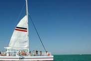 Disney Cruise Line Adventures in Key West, Featuring Catamaran