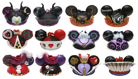 New Villains Ear Hat Ornaments Coming to Disney Parks