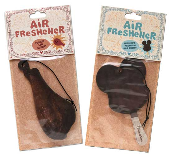 New Air Fresheners Coming to Disney Parks - Introducing the Turkey Leg and Mickey Mouse Ice Cream Bar