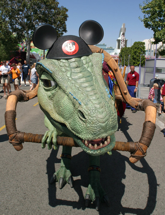 Caption This: Lucky the Dinosaur at Disney California Adventure Park