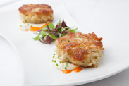 Crab Cakes from Steakhouse 55 at the Disneyland Hotel