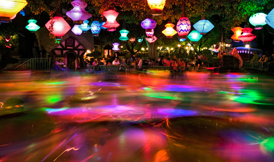 Disney Parks After Dark: Taking a Spin at Disneyland Park