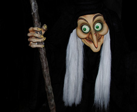 The Wicked Witch from Snow White's Adventures, Voiced by Disney Legend Ginny Tyler