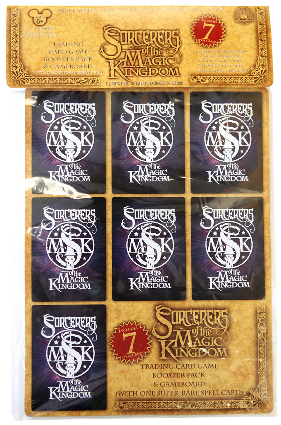 Sorcerers Of The Magic Kingdom Trading Card Game Coming To