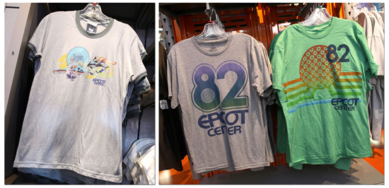 'Epcot 82' Merchandise Celebrates the 30th Anniversary of Epcot