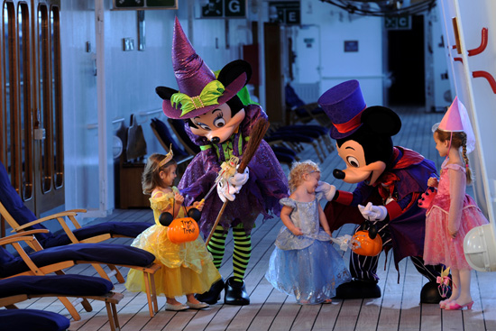 Celebrate Halloween with Disney Cruise Line