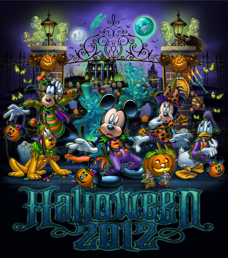Hauntingly Fun Halloween Merchandise Features the Haunted Mansion ...