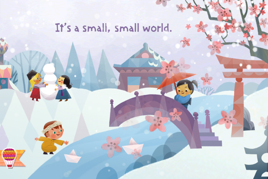 Disney S It S A Small World Storybook App Updated With