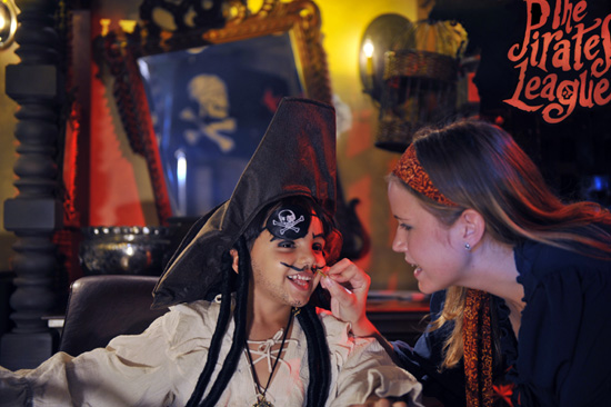 Find Your Halloween Style at The Pirates League at the Disneyland Resort