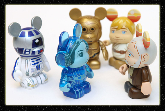 Star Wars Vinylmation Figures from Disney Theme Park Merchandise