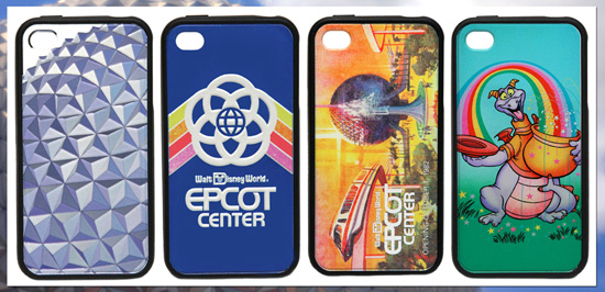 Commemorate the 30th Anniversary of Epcot With New Merchandise, Including Four D-Tech on Demand iPhone 4/4S Cases, Starting September 28