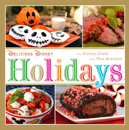 'Delicious Disney Holidays' Newest in Cookbook Series