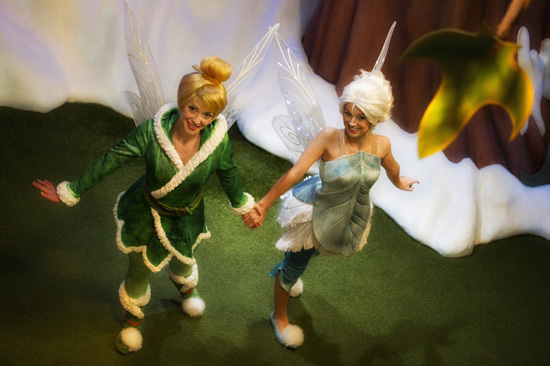 Tinker Bell and Her Sister Periwinkle Are Now Greeting Guests at Disney Parks