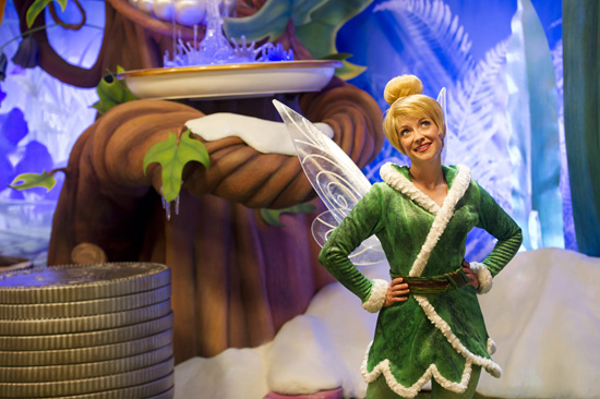 Tinker Bell Will Wear New Cozy Clothing  While Greeting Guests This Fall and Winter at Disney Parks
